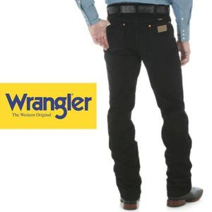 Wrangler Cowboy Cut Jeans - 36Wx32L - Black